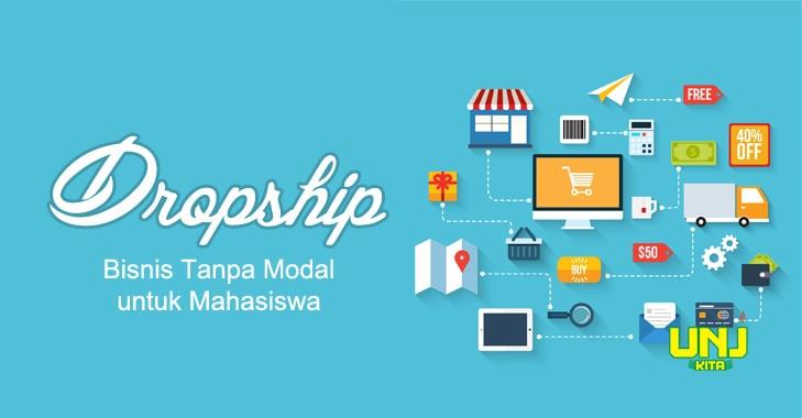 Dropship, Bisnis Tanpa Modal untuk Mahasiswa  UNJKita.com