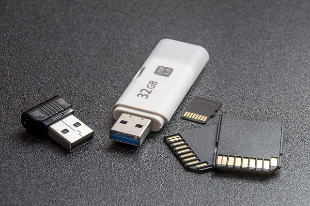 Flashdisk, Memory Card