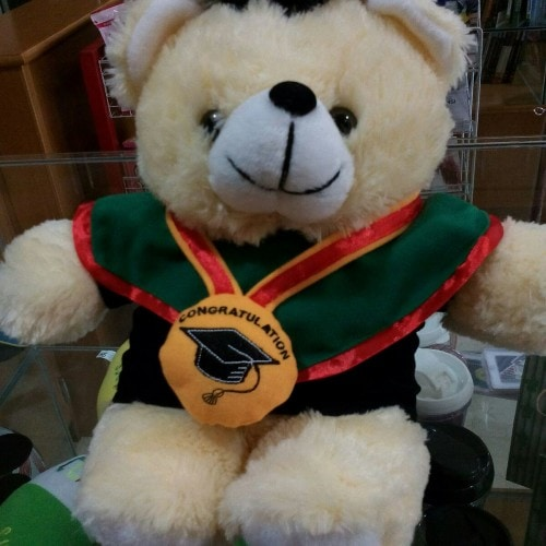 Boneka Wisuda Beruang