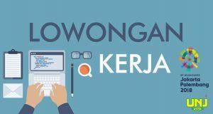 Lowongan Volunteer Asian Games 2018
